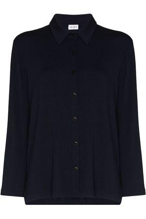 Leset Nora button-down loungewear top