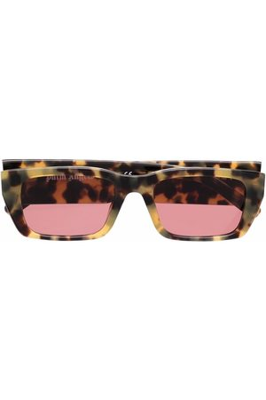Palm Angels Sunglasses - Angel rectangle-frame sunglasses