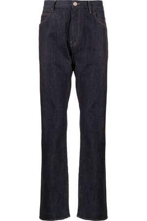 Armani Men High Waisted - High-rise slim fit jeans