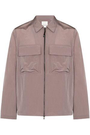 WoodWood Egon zip-front shirt jacket