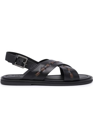 Bally Jador crossover-strap sandals