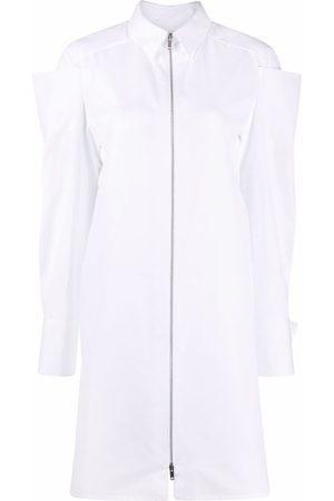 Givenchy Women Casual Dresses - Zip-detail poplin shirtdress