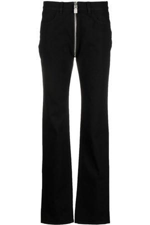 Givenchy Women Slim - Slim cut zip-detail jeans