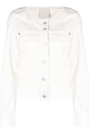 Givenchy Square-neck denim jacket