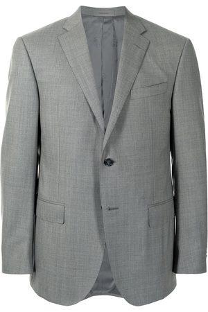 corneliani Academy Super 160's wool blazer - Grey