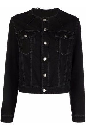 MM6 MAISON MARGIELA Raw-cut denim jacket