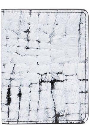 Maison Margiela Brush stroke print wallet