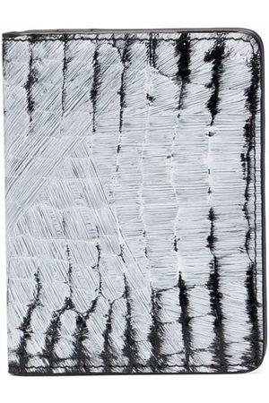 Maison Margiela Men Wallets - Brush stroke print wallet
