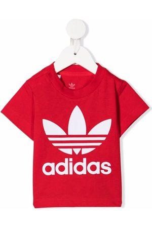 adidas Short Sleeve - Logo-print short-sleeved T-shirt