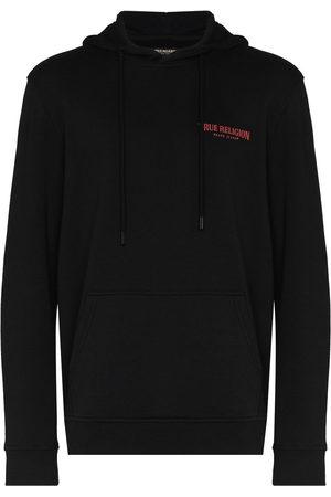 True Religion Logo-print hooded sweatshirt