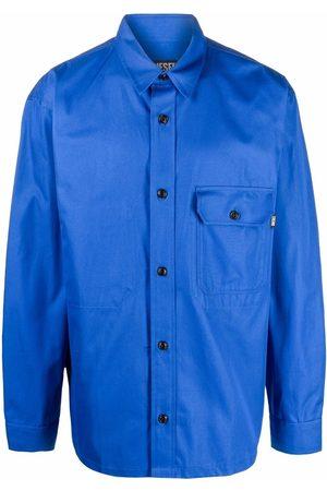 Diesel Men Shirts - Button front twill shirt