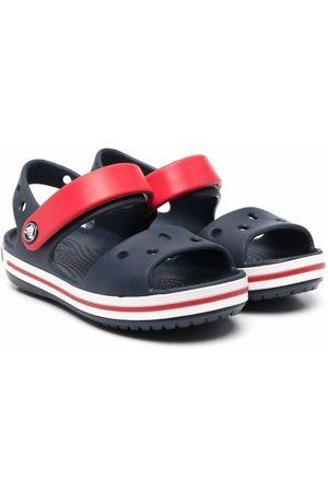 Crocs Sandals - Round-toe colour-block sandals
