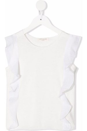 OPILILAI Sleeveless ruffled blouse