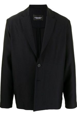 A-cold-wall* Tonal stripe single-breasted blazer