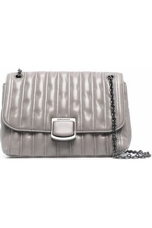 Longchamp Brioche quilted shoulder bag - Grey