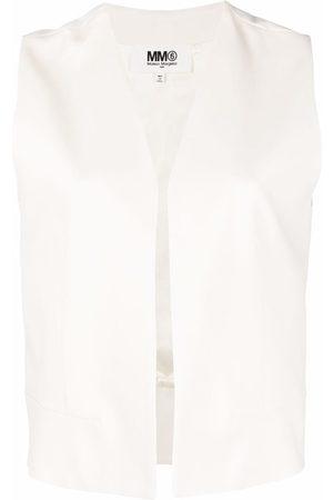MM6 MAISON MARGIELA Women Gilets - Collarless tailored vest