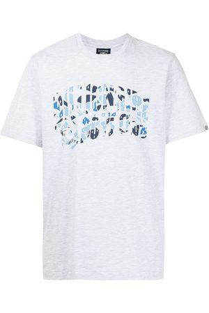 Billionaire Boys Club Men T-shirts - Logo-print cotton T-shirt - Grey