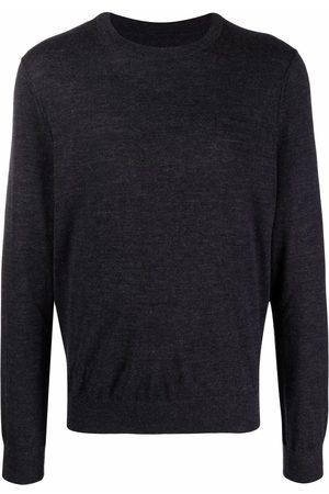 Zadig & Voltaire Men Sweatshirts - Ethan fine-knit jumper - Grey