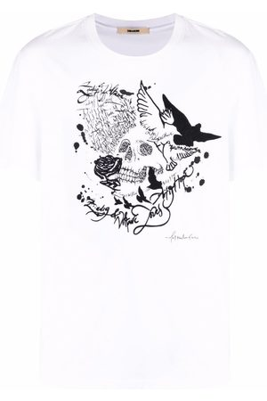Zadig & Voltaire Ted skull-print cotton T-shirt