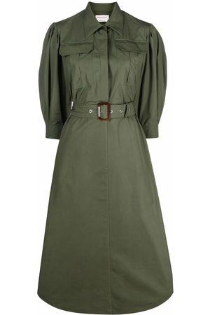 Alexander McQueen Women Casual Dresses - Belted shirt dress