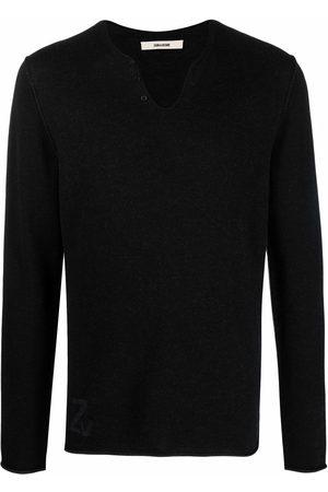 Zadig & Voltaire Monastir merino jumper - Grey