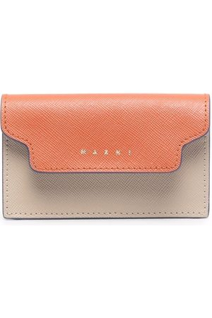 Marni Trunk two-tone wallet