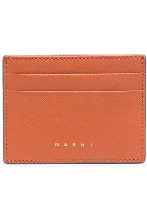 Marni Women Purses - Logo-print leather cardholder