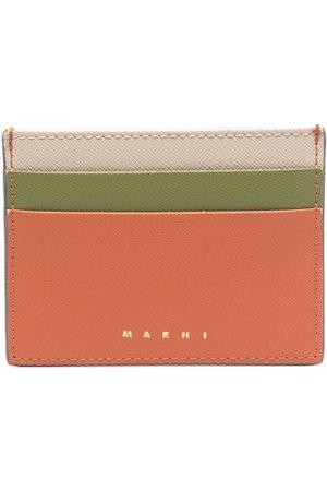 Marni Women Purses - Logo-embossed leather cardholder