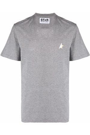 Golden Goose Star-print short-sleeve T-shirt - Grey