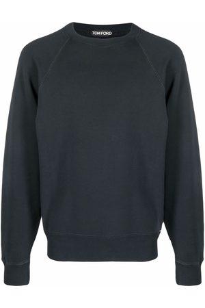 Tom Ford Men Long sleeves - Round-neck long-sleeve sweatshirt