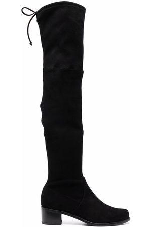 Stuart Weitzman Midland thigh-high almond-toe boots
