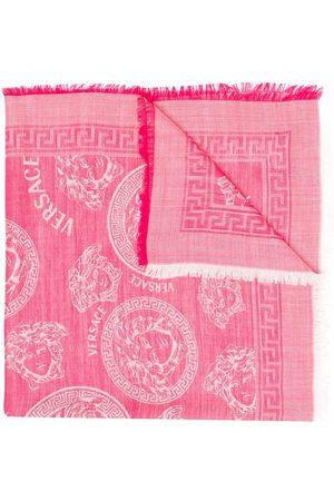 Versace Kids Medusa-motif scarf