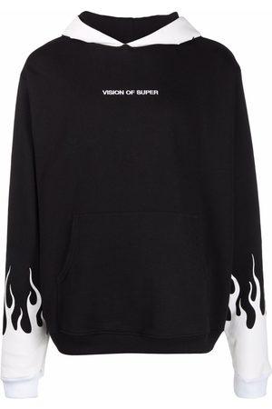 Vision Of Super Flame logo hoodie