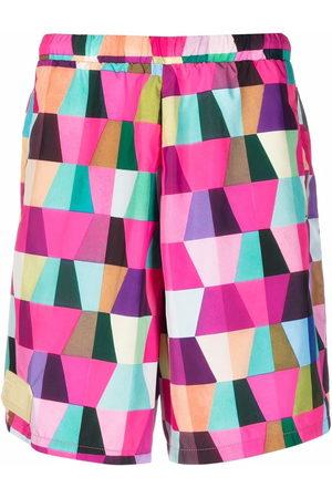 Formy Studio Geometric-print shorts