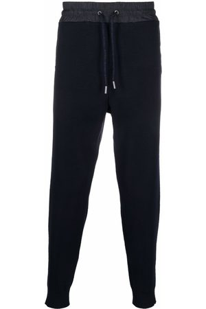 Etro Men Sweatpants - Paisley-waistband track pants