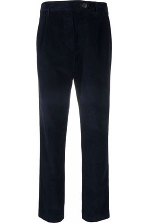 SEMICOUTURE Straight corduroy trousers