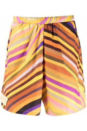 Formy Studio Stripe-print track shorts