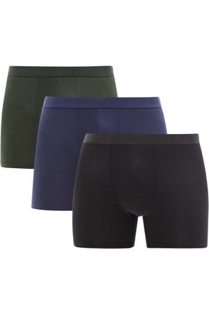 CDLP Pack Of Three Lyocell-blend Boxer Briefs - Mens - Multi