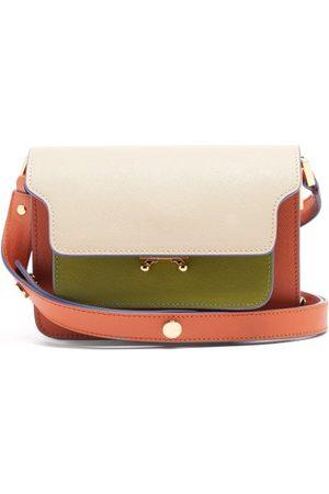 Marni Trunk Mini Leather Cross-body Bag - Womens - Multi