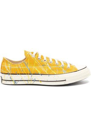 Converse Men Sneakers - Chuck 70 Paint-splatter Canvas Trainers - Mens - Multi