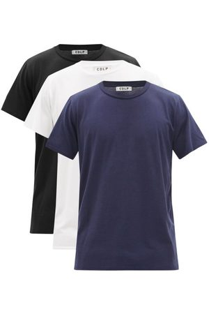 CDLP Men T-shirts - Pack Of Three Lyocell-blend Jersey T-shirts - Mens - Multi