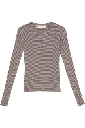 Marni Long-sleeved crew neck sweater