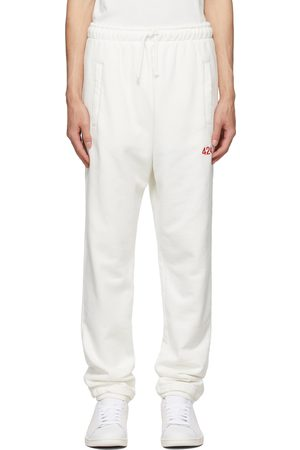 424 FAIRFAX White Logo Lounge Pants