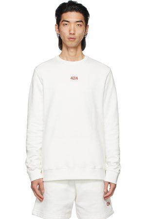 424 FAIRFAX White Logo Sweatshirt