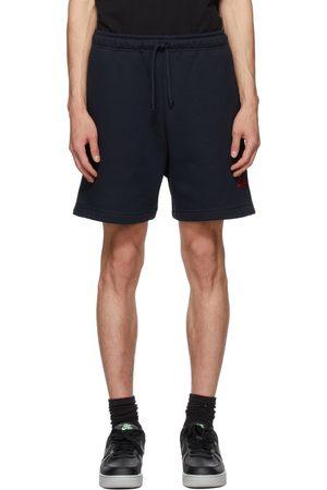 424 FAIRFAX Navy Logo Shorts