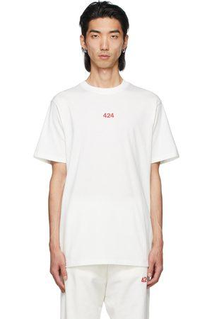 424 FAIRFAX White Logo T-Shirt