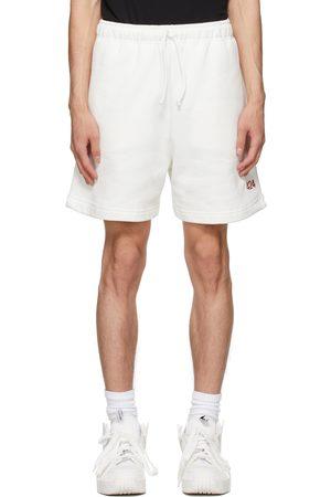 424 FAIRFAX White Logo Shorts