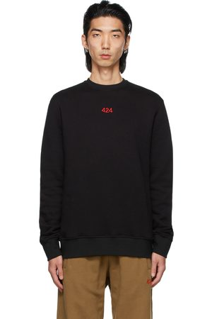 424 FAIRFAX Black Logo Sweatshirt
