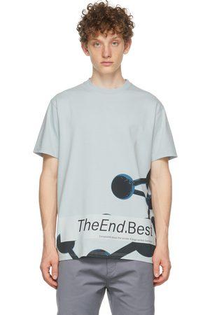 Affix Blue Heavy Jersey Zodiak T-Shirt