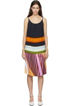 DRIES VAN NOTEN Black Len Lye Edition Sleeveless Dress